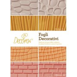 Kit Fogli Decorativi Muro/legno/pietra/p