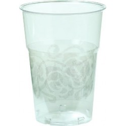 Bicchieri Crystal 25cl Argento 10pz