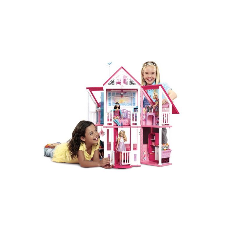 Barbie la casa di malibu 39 w3141 mattel w3141 for Casa malibu barbie