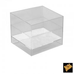 Coppetta Cube Trasp 15pz