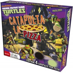 Ninja Turtles Catapulta La Pizza