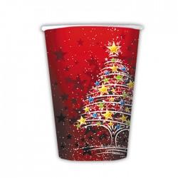 Bicchieri Cc.200 Pz.10 Christmas Tree