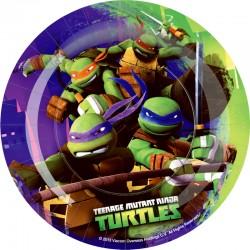 Ninja Turtles Piatti Rotondo 18 Cm Pz.8