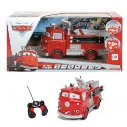 Rc Cars 1:16 Red Camion Pompieri