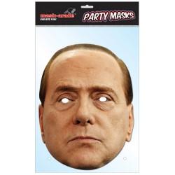 Maschera Faccia Di Silvio Berlusconi