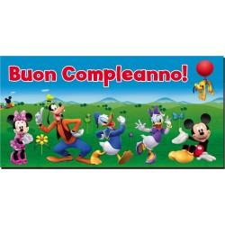 Festone Buon Compleanno Mickey Mouse