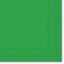 Tovaglioli Verde Smeraldo 25x25 100pz