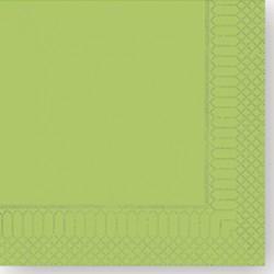 Tovaglioli 25x25 Verde Mela 100pz