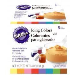 Cf.8 Coloranti Alimentari Assortiti