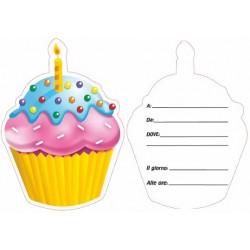Inviti Cake 10 Fogli
