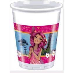 Bicchiere Plastica Mia&me 200ml 8pz