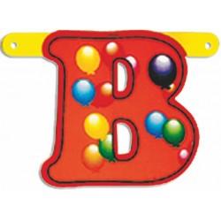 """Lettere Pallone Singole """"b"""""""