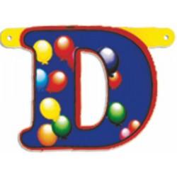 """Lettere Pallone Singole """"d"""""""