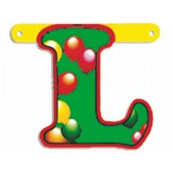 """Lettere Pallone Singole """"l"""""""