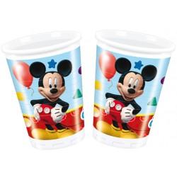 Playful Mickey Bicchieri Pl. 200 Ml. Pz.