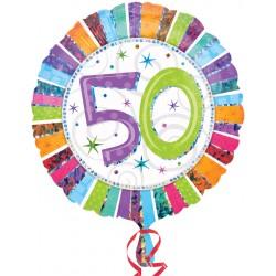 Palloncino Mylar Compleanno 50 Anni