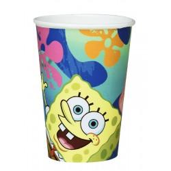 Sponge Bob  Bicchieri Cart. 20 Cl Pz.6