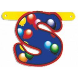 """Lettere Pallone Singole """"s"""""""