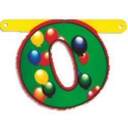 """Lettere Pallone Singole """"o"""""""