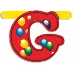 """Lettere Pallone Singole """"g"""""""