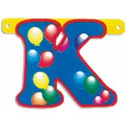 """Lettere Pallone Singole """"k"""""""