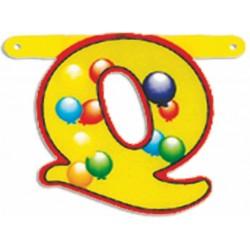 """Lettere Pallone Singole """"q"""""""