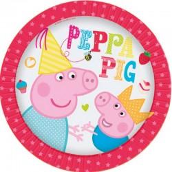 Peppa Pig Piatti 23 Cm Pz.8