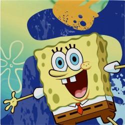 Sponge Bob  Tovaglioli 33x33 Cm Pz.16