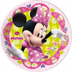 Piatti Cm.20 Pz.8 Minnie Boutique