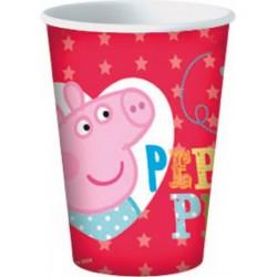 Peppa Pig Bicchieri 20 Cl Carta Pz.8