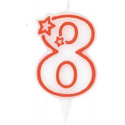 Candela Numero 8