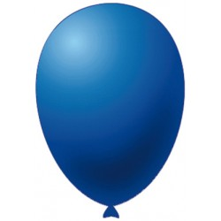 "Palloncini Monocolore Blu Pz.20 13"""