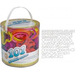 Set 101 Tagliapasta Colorati Assortiti P