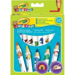 Crayola 8 Maxi Matite Colorate