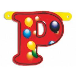 """Lettere Pallone Singole """"p"""""""