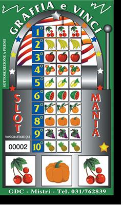 Biglietto Slot Mania