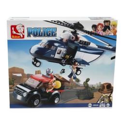 SLUBAN - Jeep ed Elicottero Police-POS190006