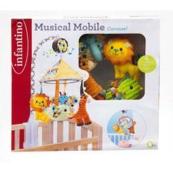 INFANTINO - Music Carousel Giostrina per Lettino