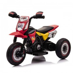 LAMAS - Moto Elettrica Mini Cross Rossa