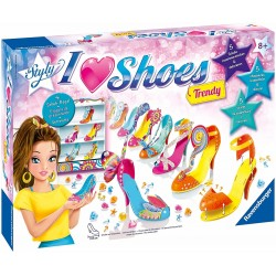 Ravensburger Italy-I Love Shoes Maxi Trendy Gioco Creativo, 18709