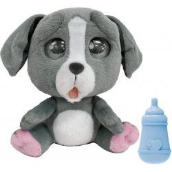 Giochi Preziosi - Emotion Pets Cry Peluche Interattivo, Colore Grigio, 22 cm, MTC00000