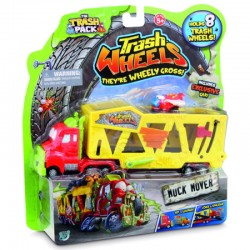 Trash Pack Wheels Camion Con Veicolo Muck Mover