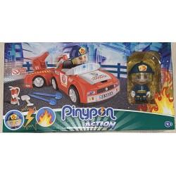 giochi preziosi pinypon action 2 pompieri con personaggio e accessori