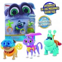giochi preziosi puppy dog pals luce e accessori personaggi, multicolore, 8056379064350