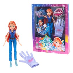 Winx - Bloom Action Spy Light Up con guanto