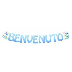 Festone Teddy Benvenuto 120607