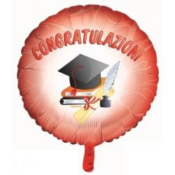 Pallone Mylar 22'' Congratulazioni