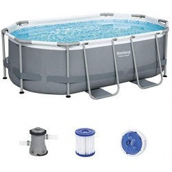 Set piscina fuori terra Power Steel™ Bestway® da  3.05 m x 2.00 m x 84 cm