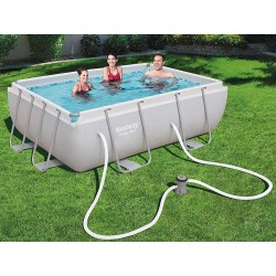 Bestway - 56629 - Piscina Power Steel Frame Rettangolare Cm. 282X196X84