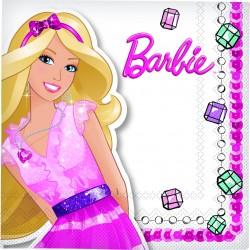 Barbie Diamonds Tovaglioli 2 Veli 33x33
